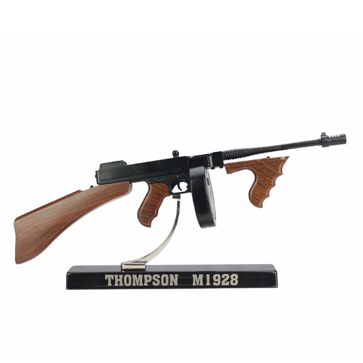 Miniatura de Arma de Guerra Thompson M1928