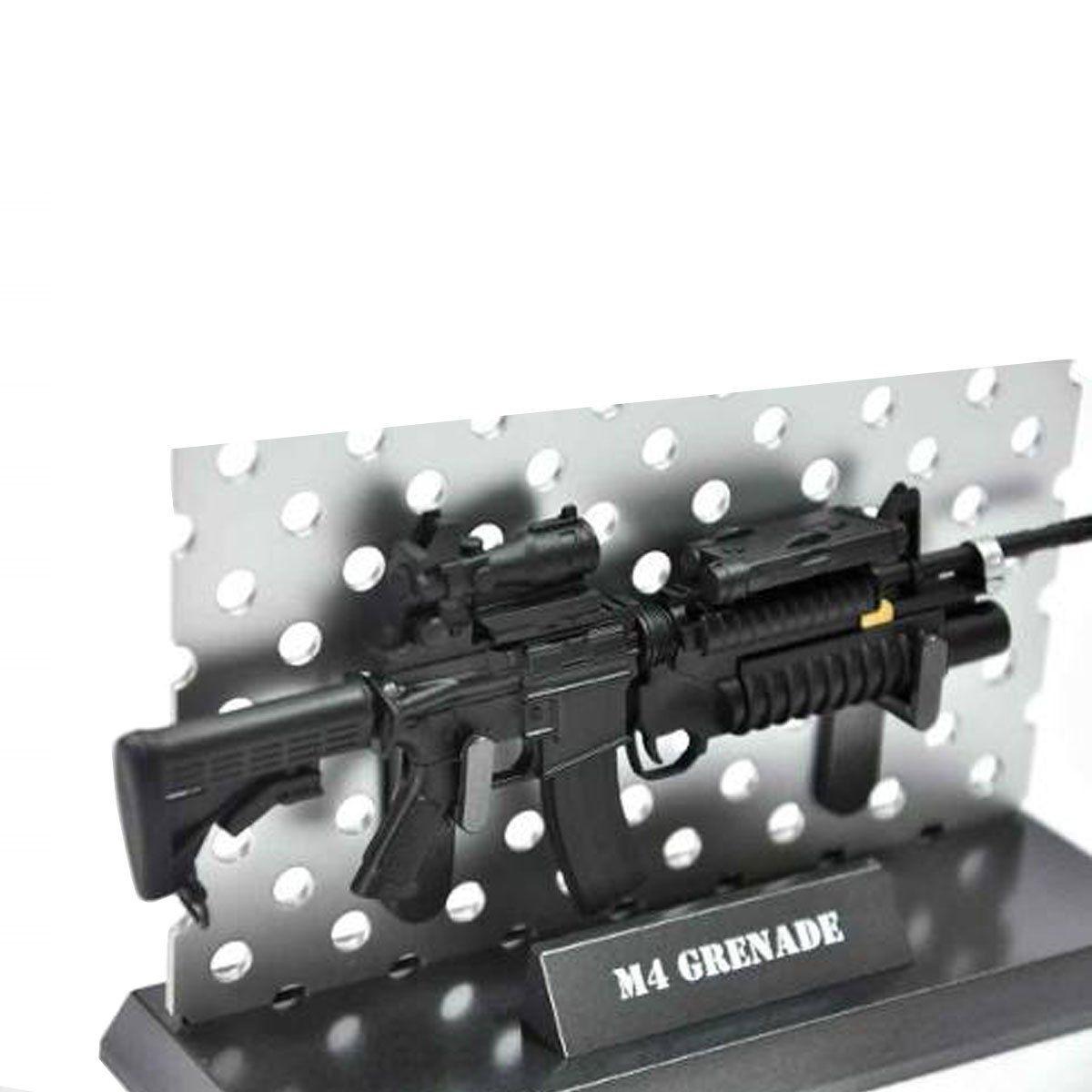 Miniatura de Arma Rifle M4 Grenade Arsenal Guns