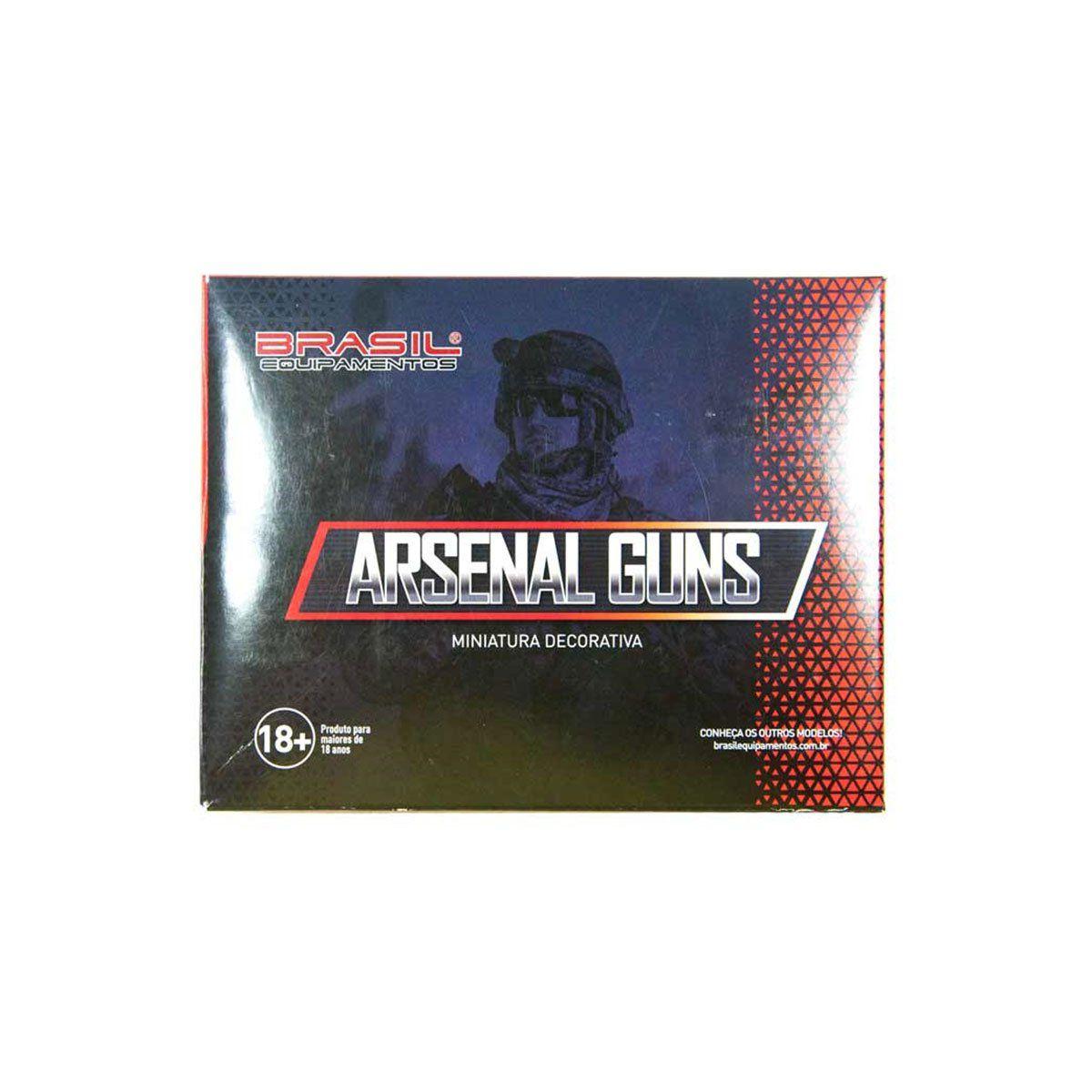 Miniatura de Arma Submetralhadora MP5 Arsenal Guns
