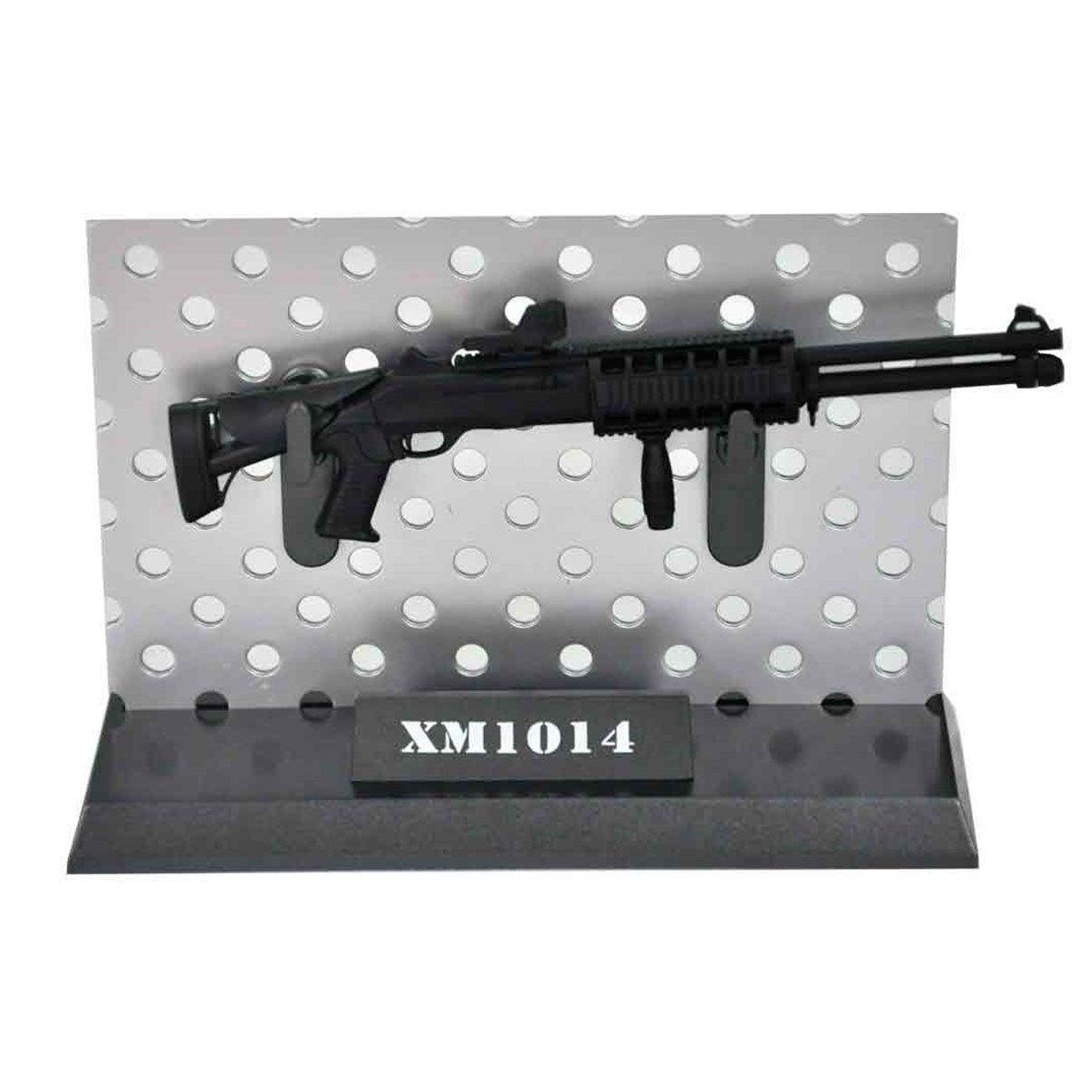 Miniatura Rifle XM1014 Preta 14cm