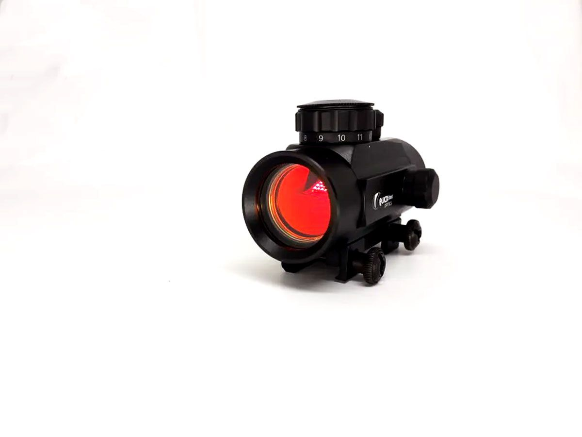Mira Holografica Red Dot QuickShot Airgun 1X30 Trilho 22MM