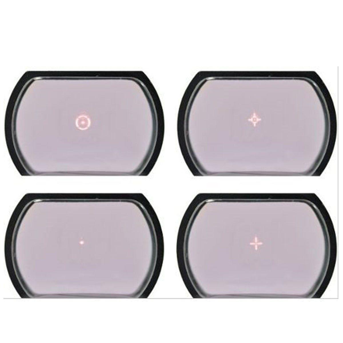 Mira Holografica Red Dot Rossi 1x22x33 Compacta Trilho 11mm