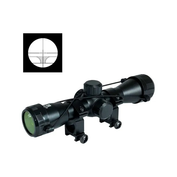Mira Telescopica / Luneta Riflescope QuickShot 4X32 - (263mm Retículo Iluminado)