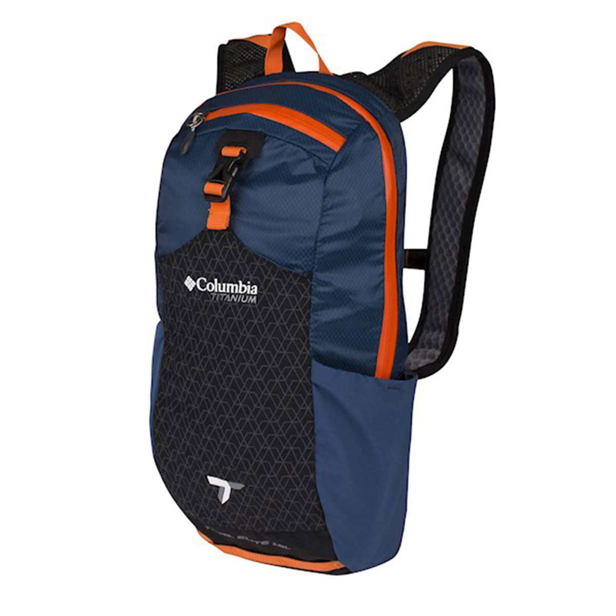 Mochila Columbia Trail Elite 12L Training Backpa Azul/Laranja