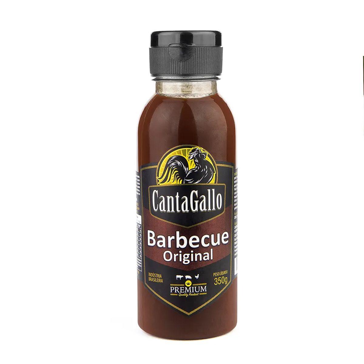 Molho Barbecue Cantagallo Original Premium 350g