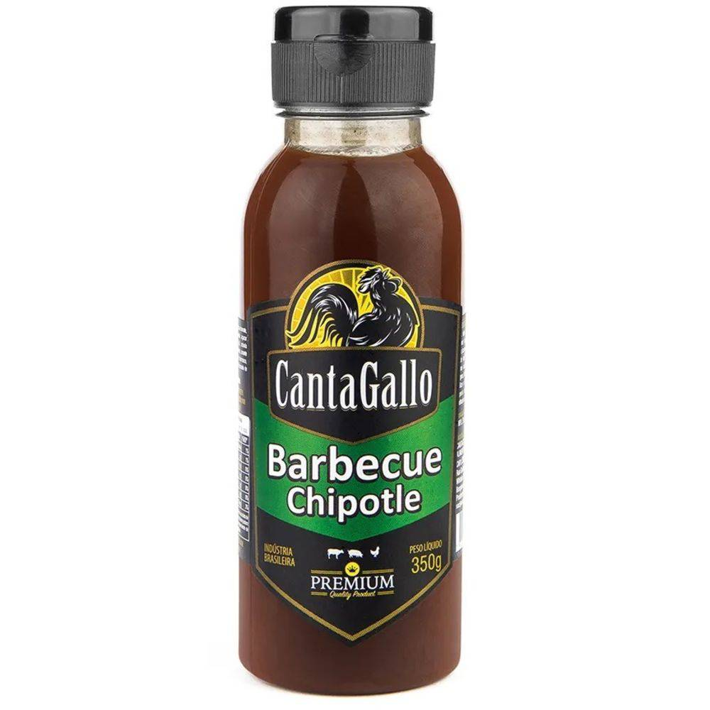 Molho Barbecue Chipotle Cantagallo Premium 350g