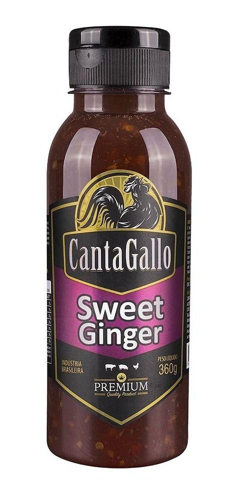 Molho Canta Gallo Sweet Ginger