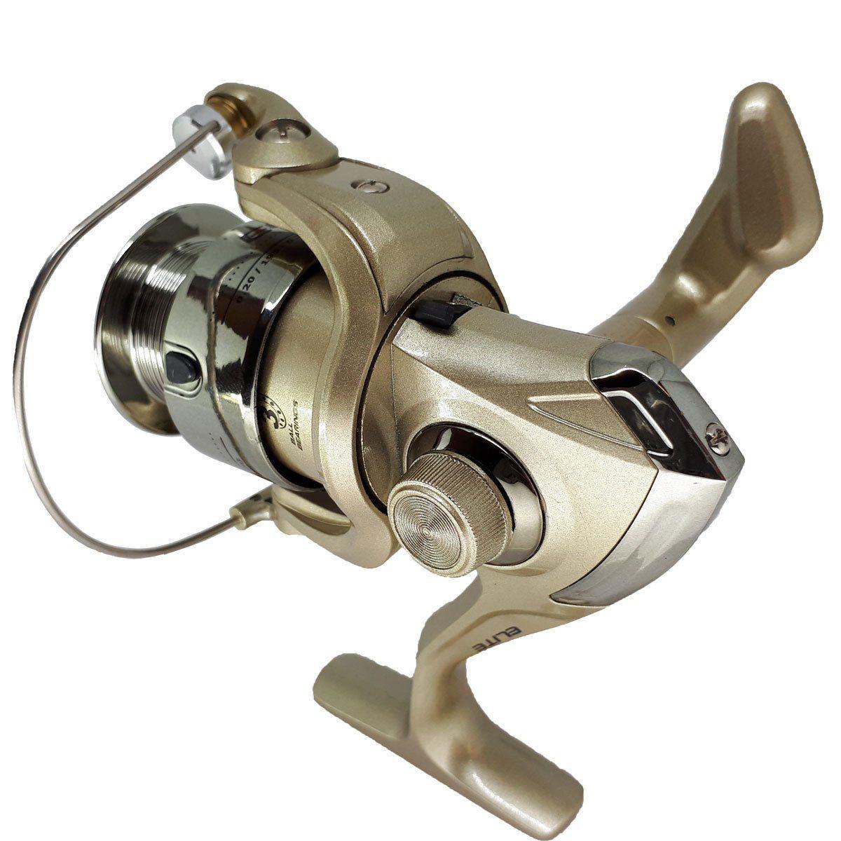 Molinete de Fricção Dianteira Marine Sports Elite 2000F - 3 Rolamentos