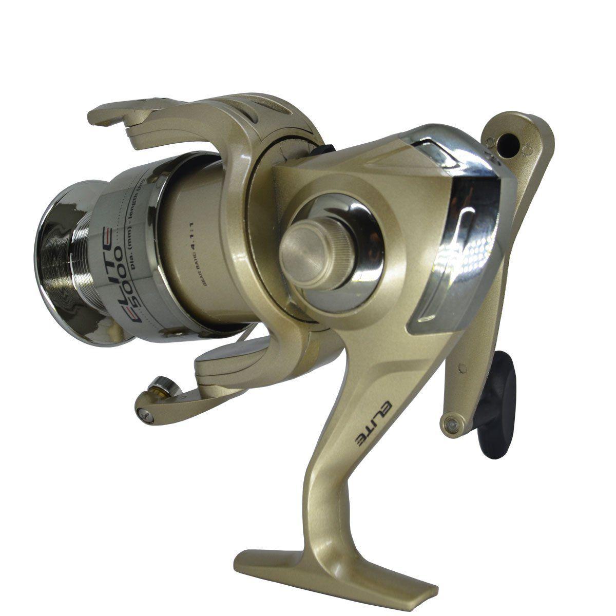 Molinete de Fricção Dianteira Marine Sports Elite 5000F - 3 Rolamentos