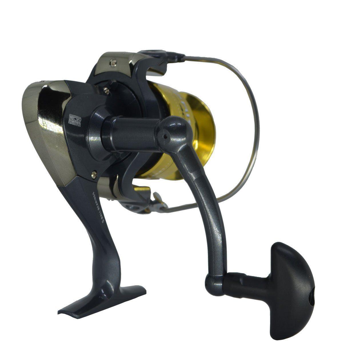 Molinete Marine Sports Prisma 4000 FD Fricção Diant 5 Rols