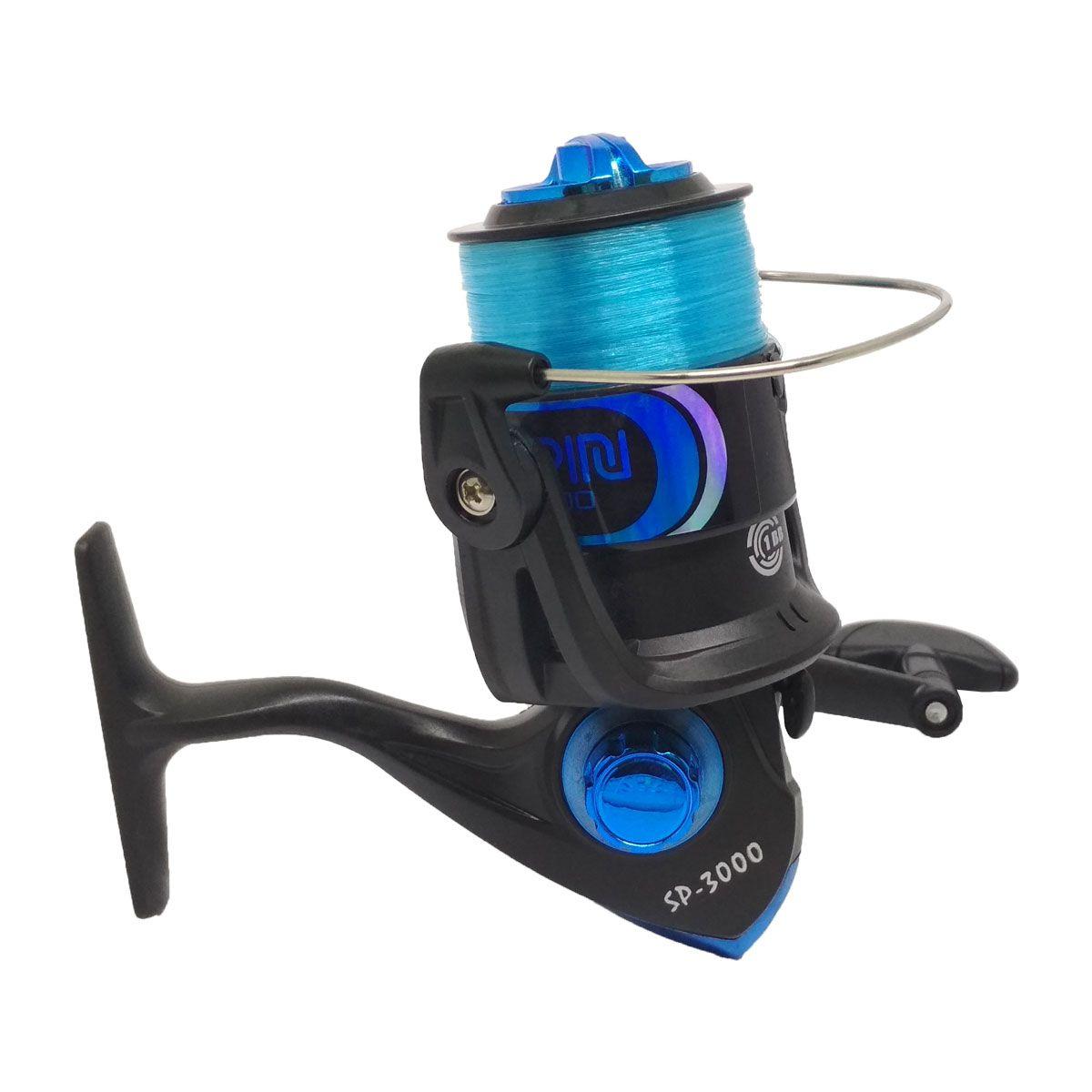 Molinete Plusfish Spin 3000 1 Rol 5.2:1 Azul