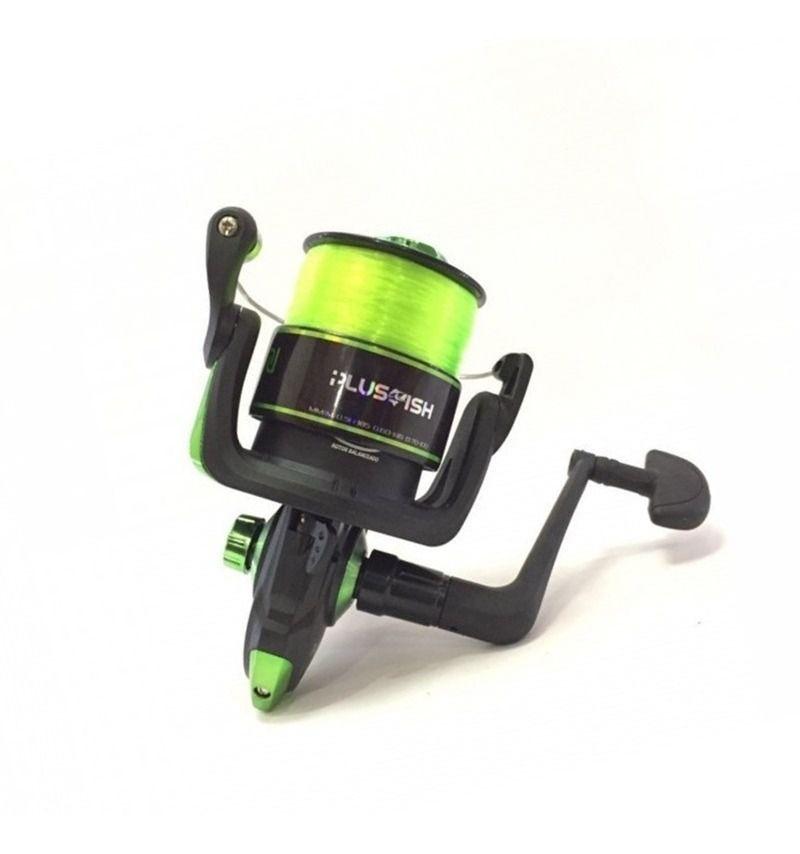 Molinete Plusfish Spin 4000 1 Rol 4.8:1 Verde