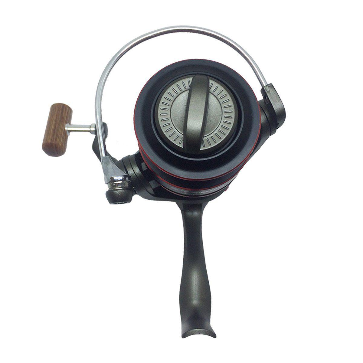 Molinete Saint Plus Saturno 3000 Fricção Dianteira - 4 Rolamentos