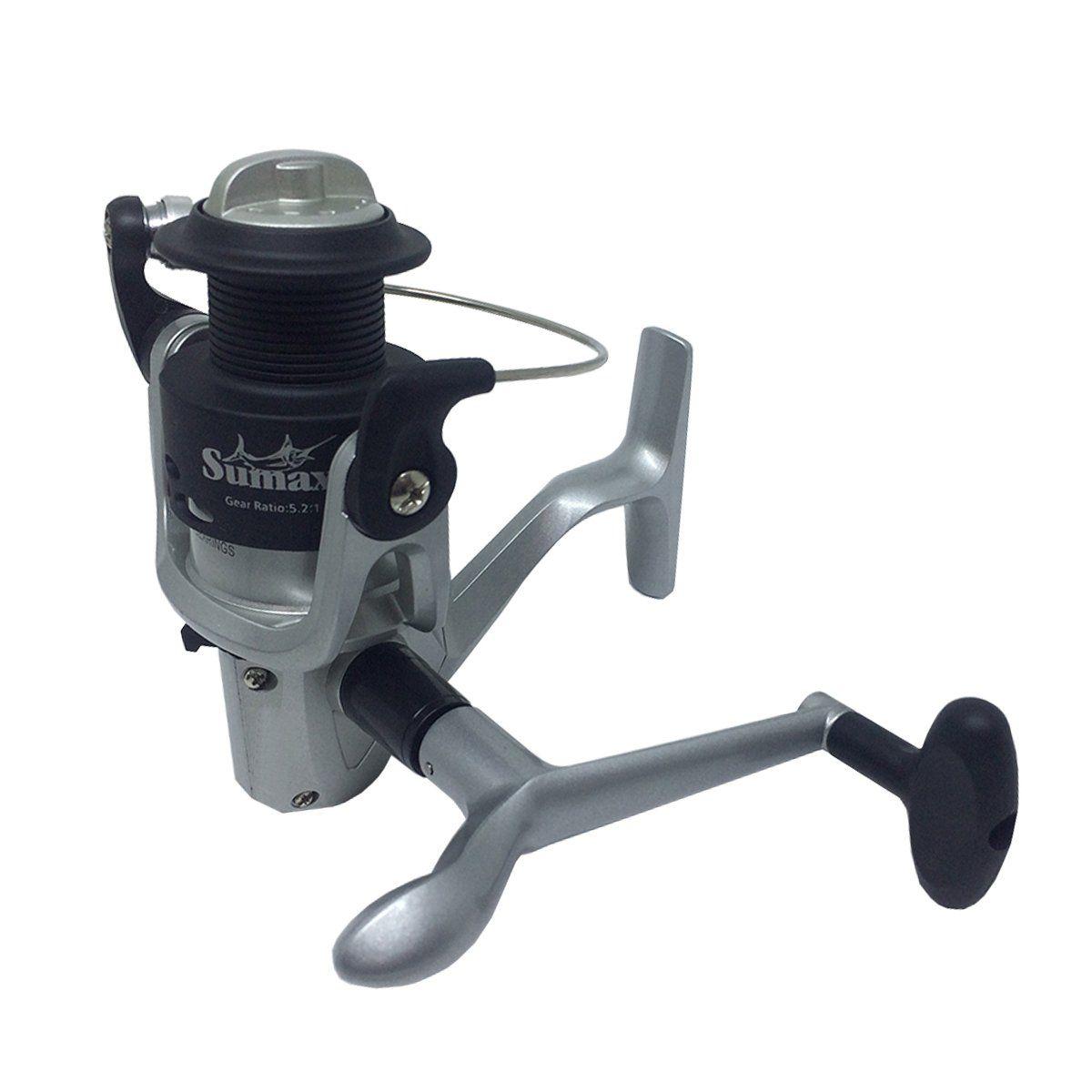 Molinete Sumax Troller 500 Fricção Dianteira 3 Rolamentos