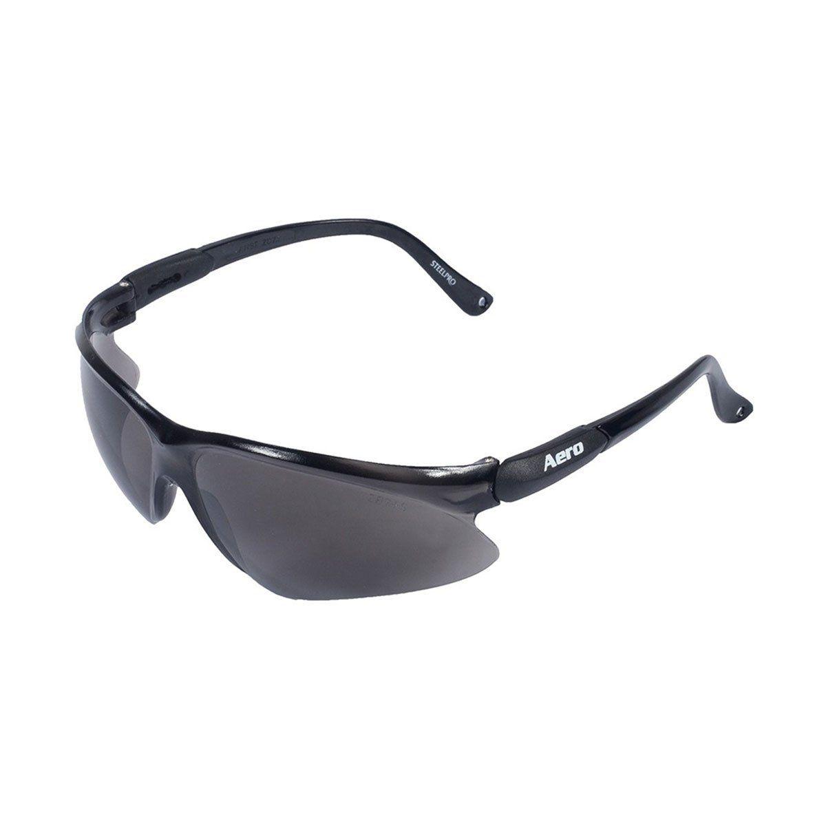 Óculos de Proteção Aero c/ Lente Fumê SteelPro