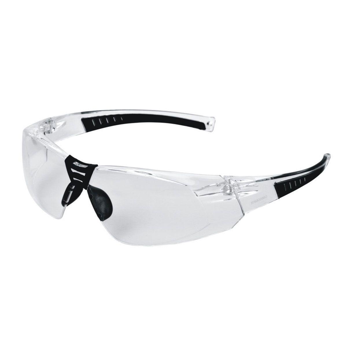 Óculos de Proteção Cayman Sport Carbografite Incolor Antiembaçante