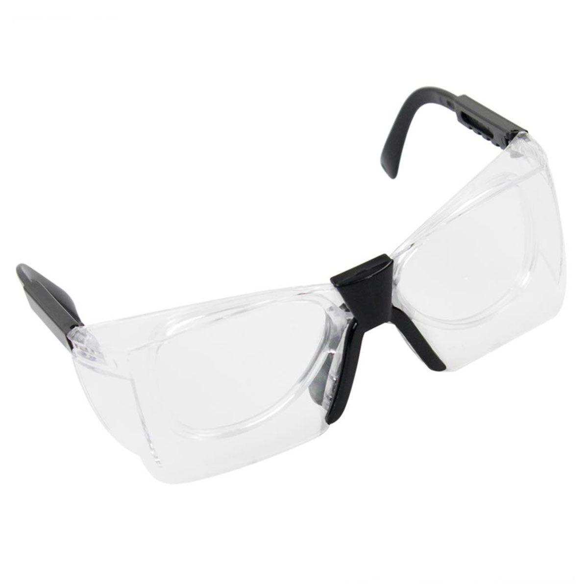 Óculos de Proteção Delta Carbografite Incolor Antiembaçante