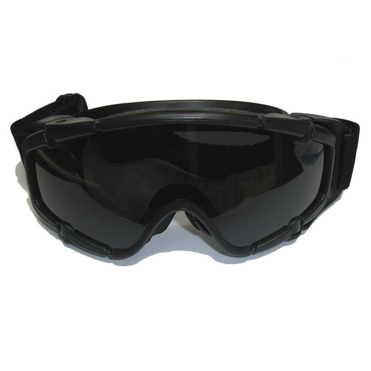 Oculos de Protecao FMA SI-Ballisic Preto com 2 Lentes