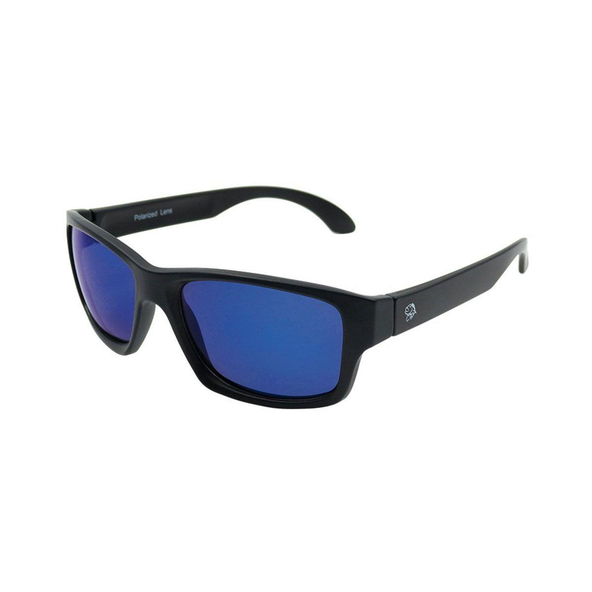 Oculos Polarizado Pro Tsuri GT Preto e Fosco Lente Blue Mirror