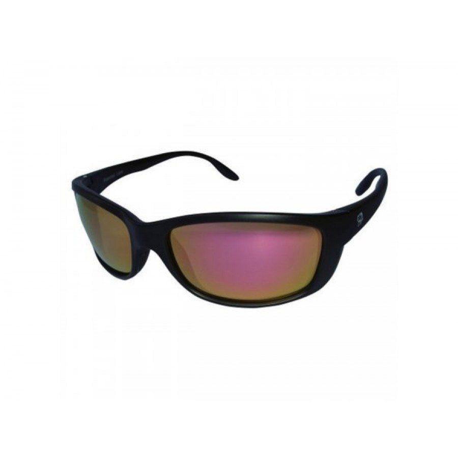 Oculos Polarizado Pro Tsuri Mako Armacao Preto Fosco - Lente Gold Mirror