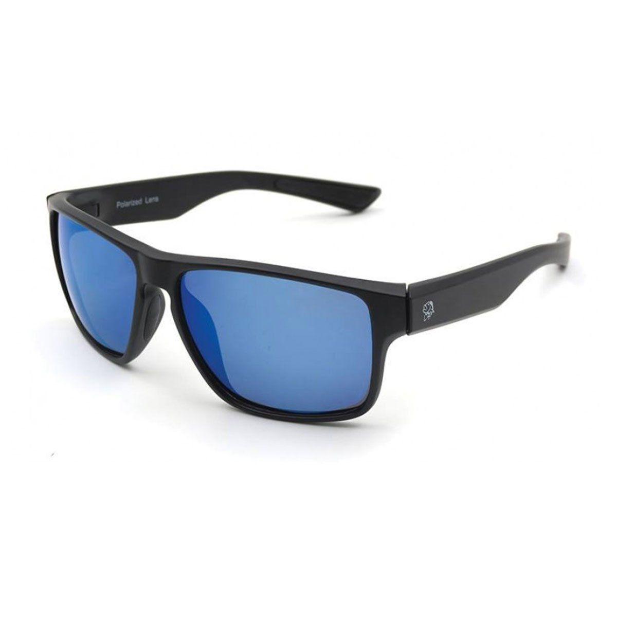 Óculos Polarizado Pro Tsuri Tarpon Armação Preto Fosco - Lente Light Blue Mirror