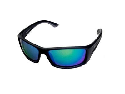 Óculos Polarizado Pro Tsuri Venon Armação Preto Fosco - Lente Verde