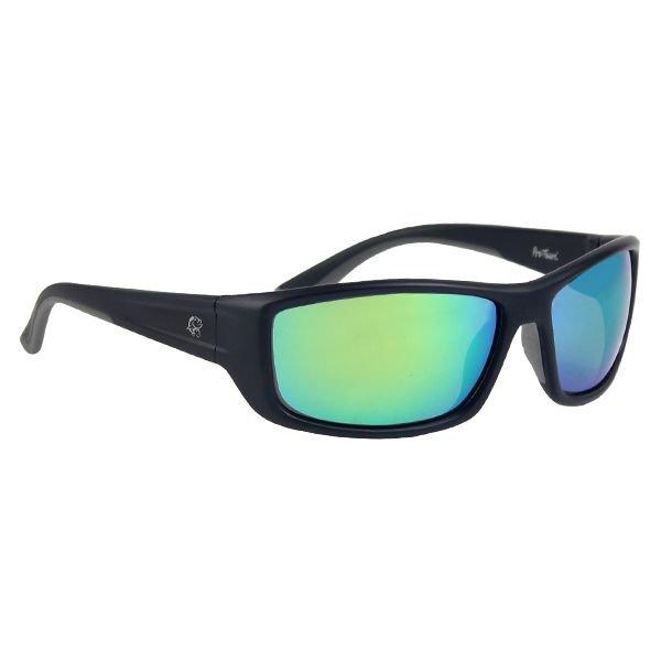 Óculos Polarizado Pro-Tsuri Venon com Case - Armação Preto Fosco e Lente Green Mirror