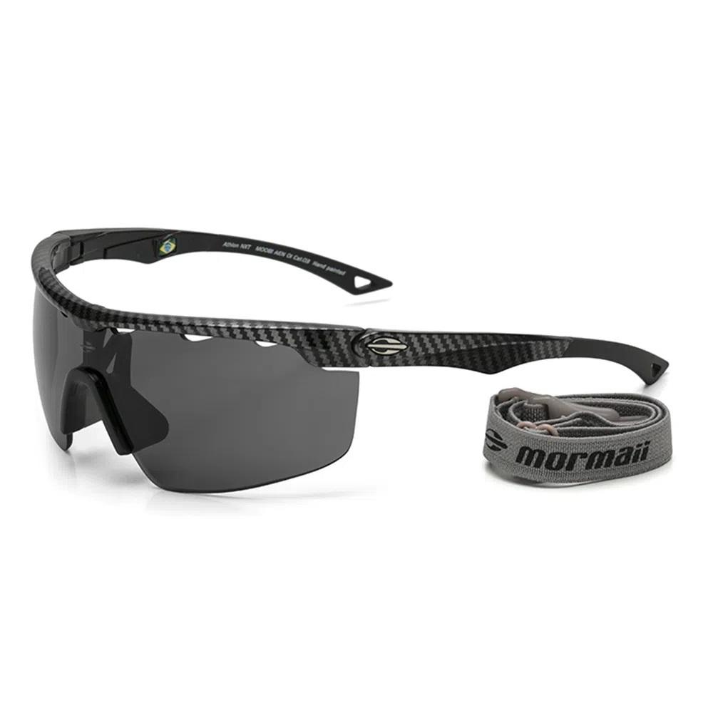 Oculos Sol Mormaii Athlon Nxt Preto Carbono