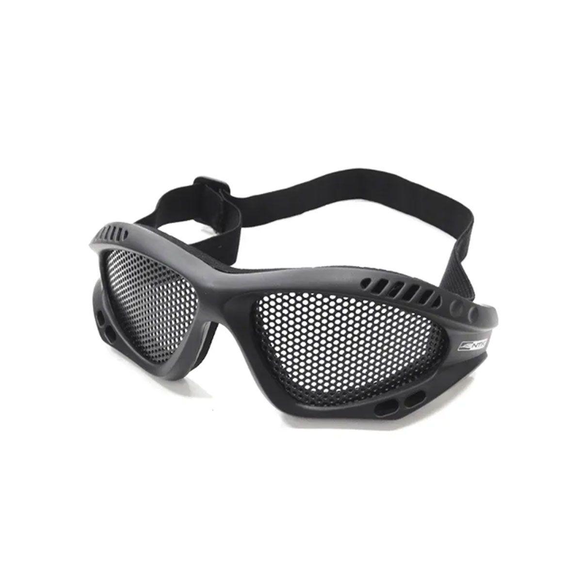 Óculos Tático De Proteção Nautika Kobra Preto