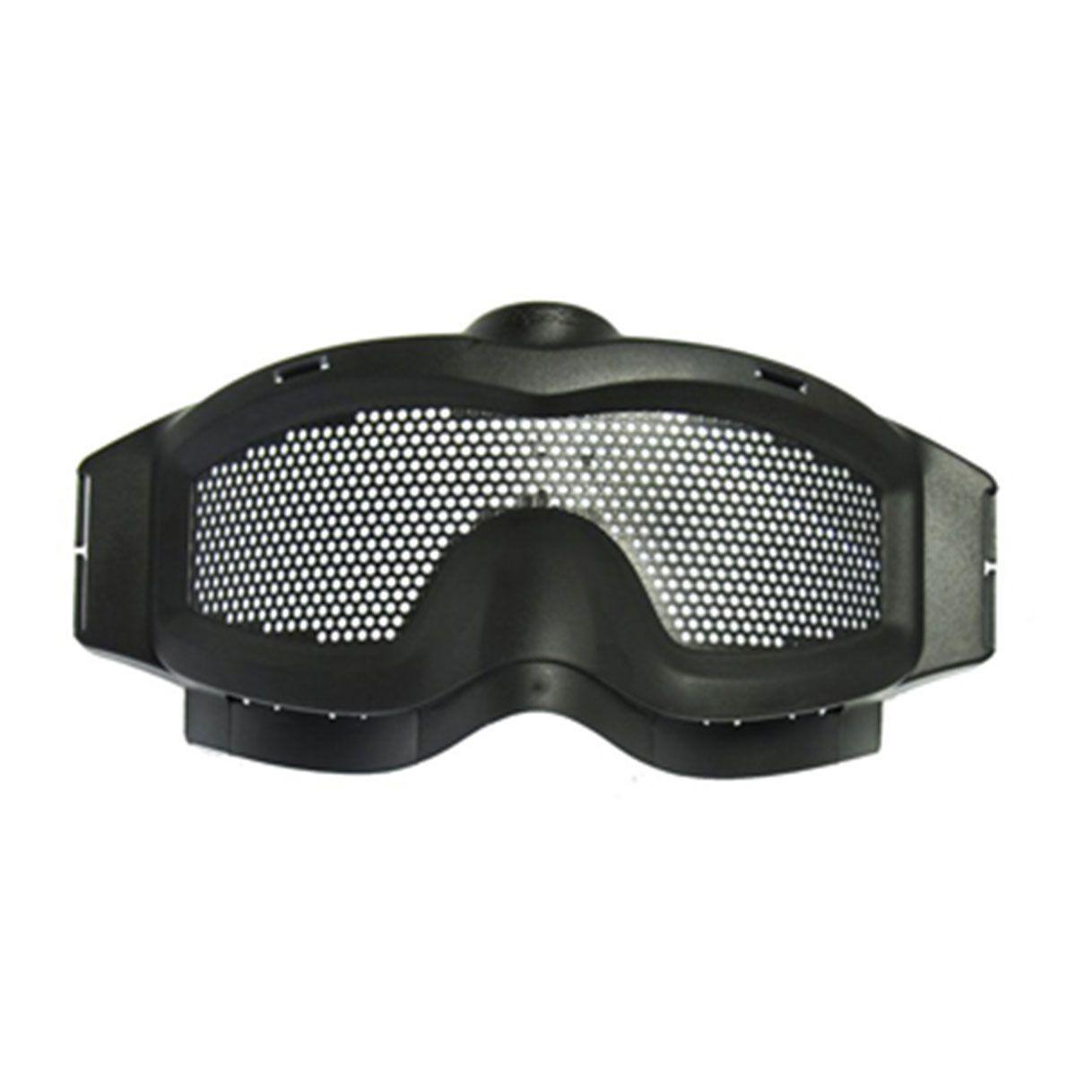 Óculos TMC c/ malha metálica de proteção - Preta