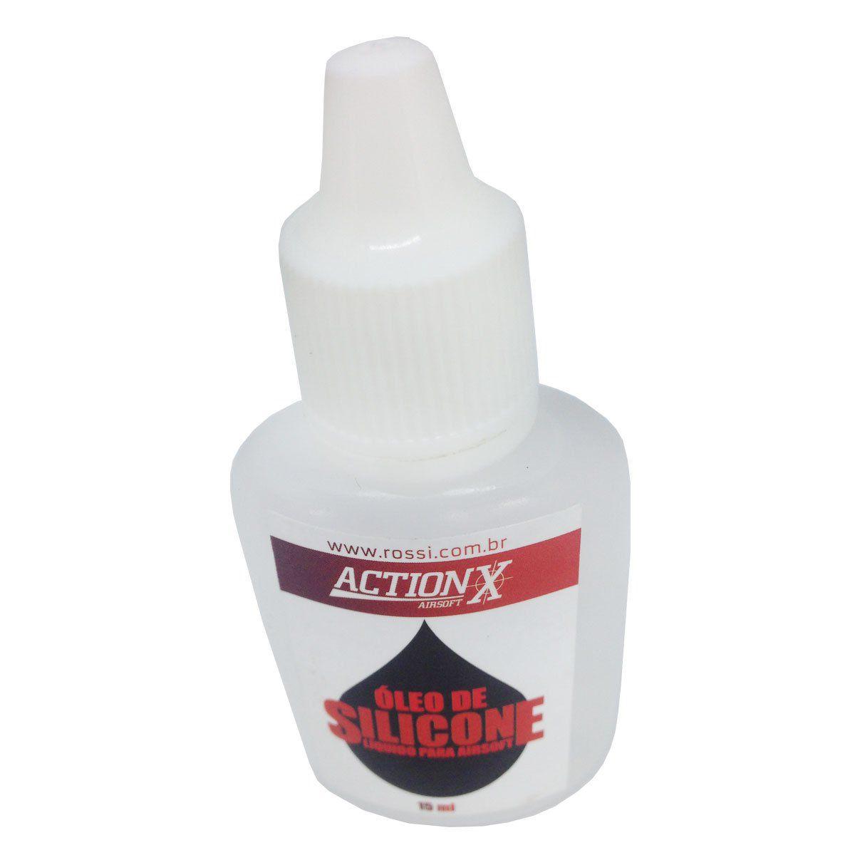 Óleo de Silicone para Airsoft 15ml Actionx