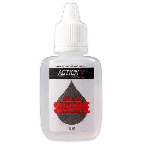 Óleo de Silicone para Airsoft ActionX - 15ml