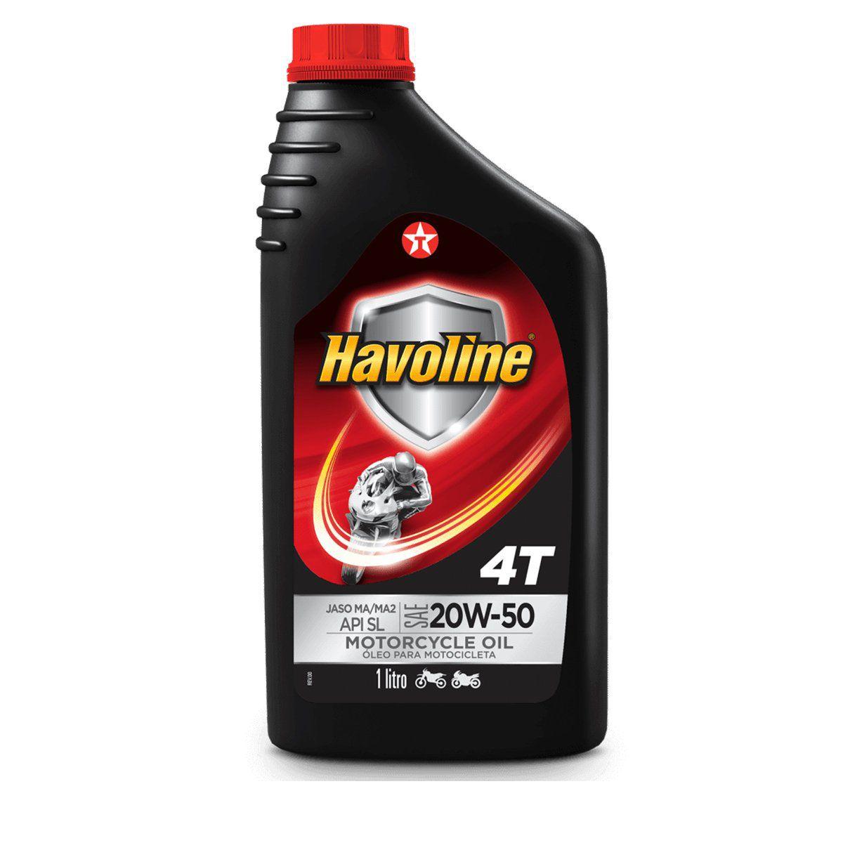 Óleo Havoline 4T- 20 w - 50