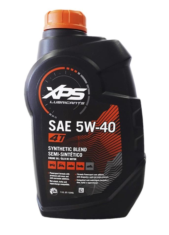 Óleo Semi-sintético BRP XPS SAE 5W-40 4 Tempos - 946ml