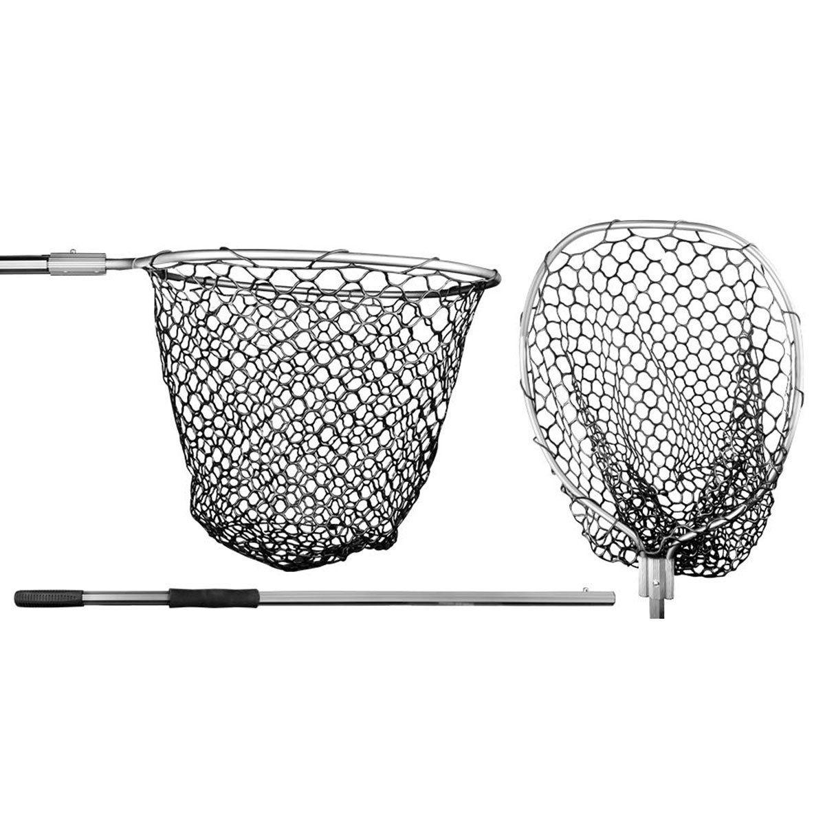 Passagua de Aluminio Albatroz 46x55cm Cabo 1m Rede Silicone