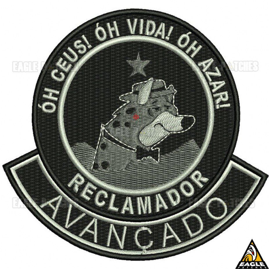 Patch Eagle Patches Bordado Reclamador Avançado - 9cm