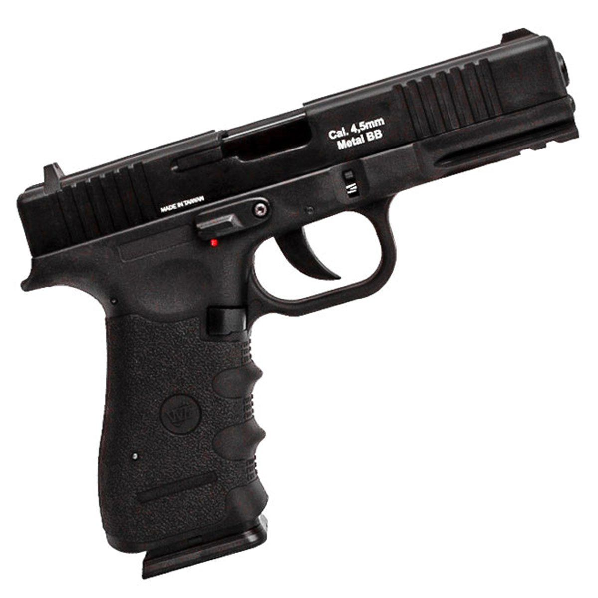 Pistola de Pressão Wingun W119 Slide Metal CO2 4,5mm