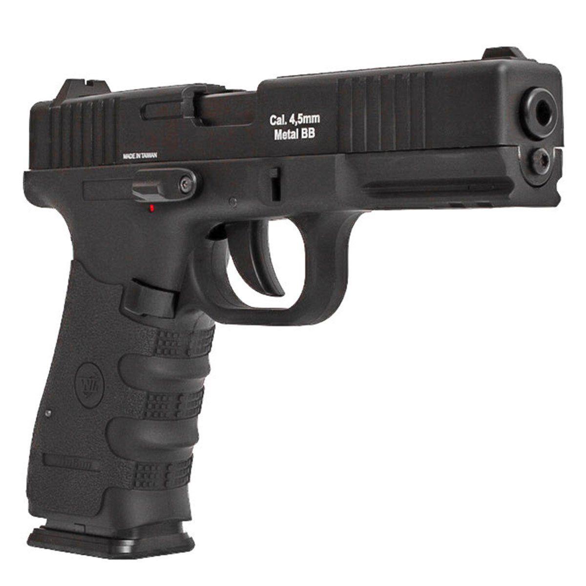 Pistola de Pressão Wingun W119 Slide Metal CO2 4,5mm