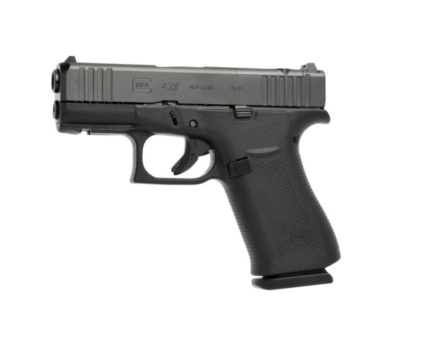 Pistola Glock G43X Gen5 Mos FS Semi Automática + Acessórios