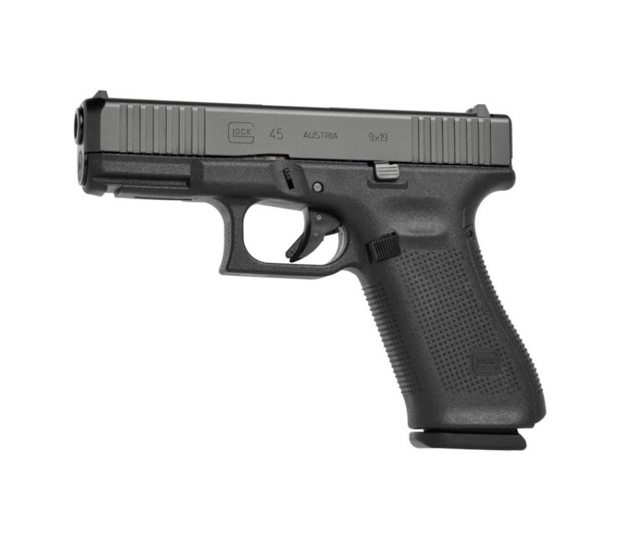 Pistola Glock G45 Gen5 FS 9 mm + Acessórios