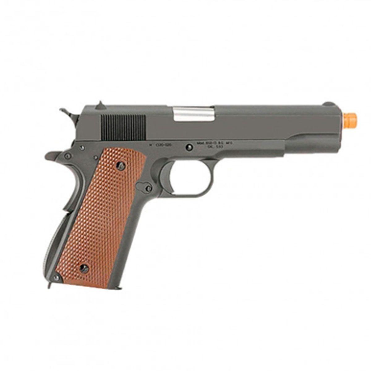 Pistola Airsoft 1911 A-Version Gen 2 Full Metal GBB - WE