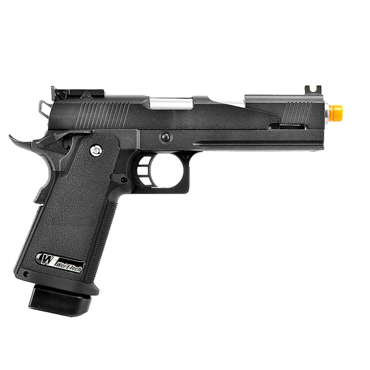 Pistola Airsoft 1911 Black Dragon 5.1A Full Metal GBB - WE