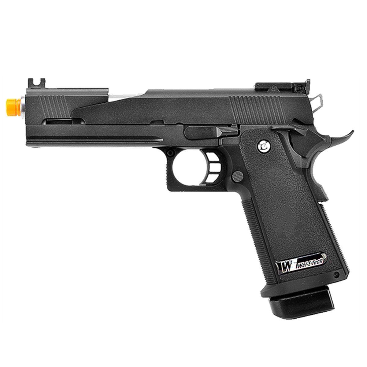 Pistola Airsoft 1911 Black Dragon 5.1A Full Metal GBB - WE