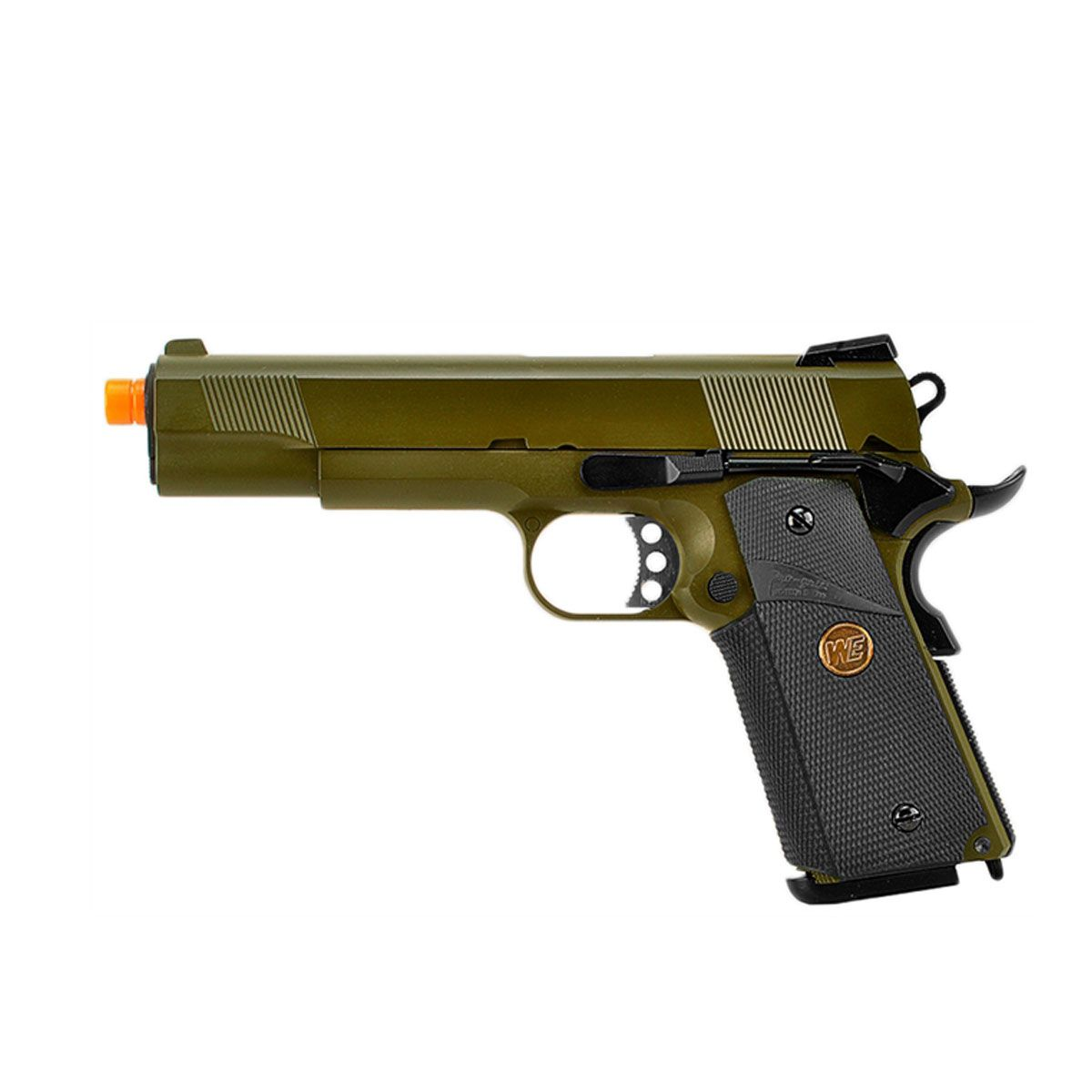 Pistola Airsoft 1911 MEU OD Full Metal GBB - WE