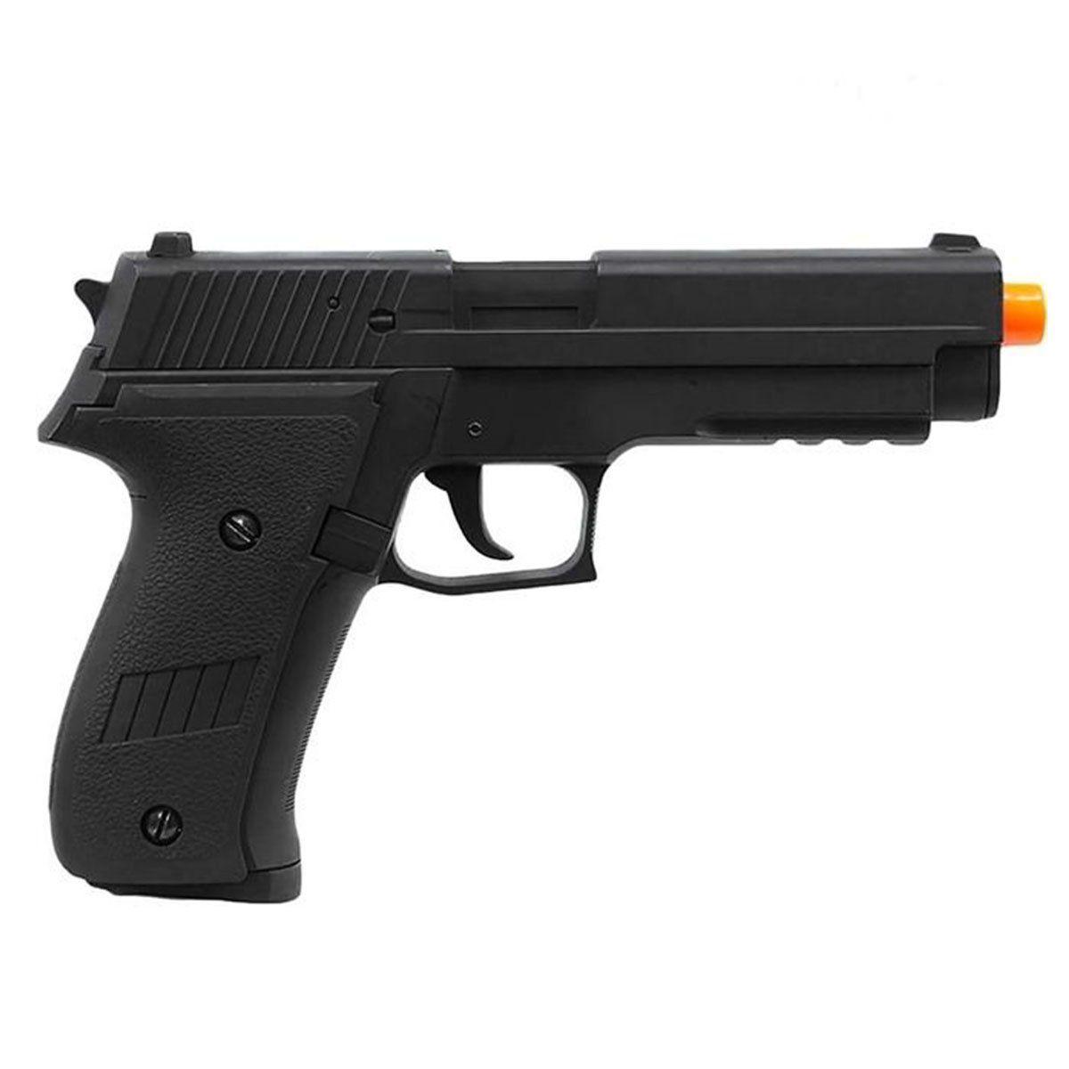 Pistola Airsoft CYMA CM.122 Sig Sauer P226 Slide Metal Elétrica