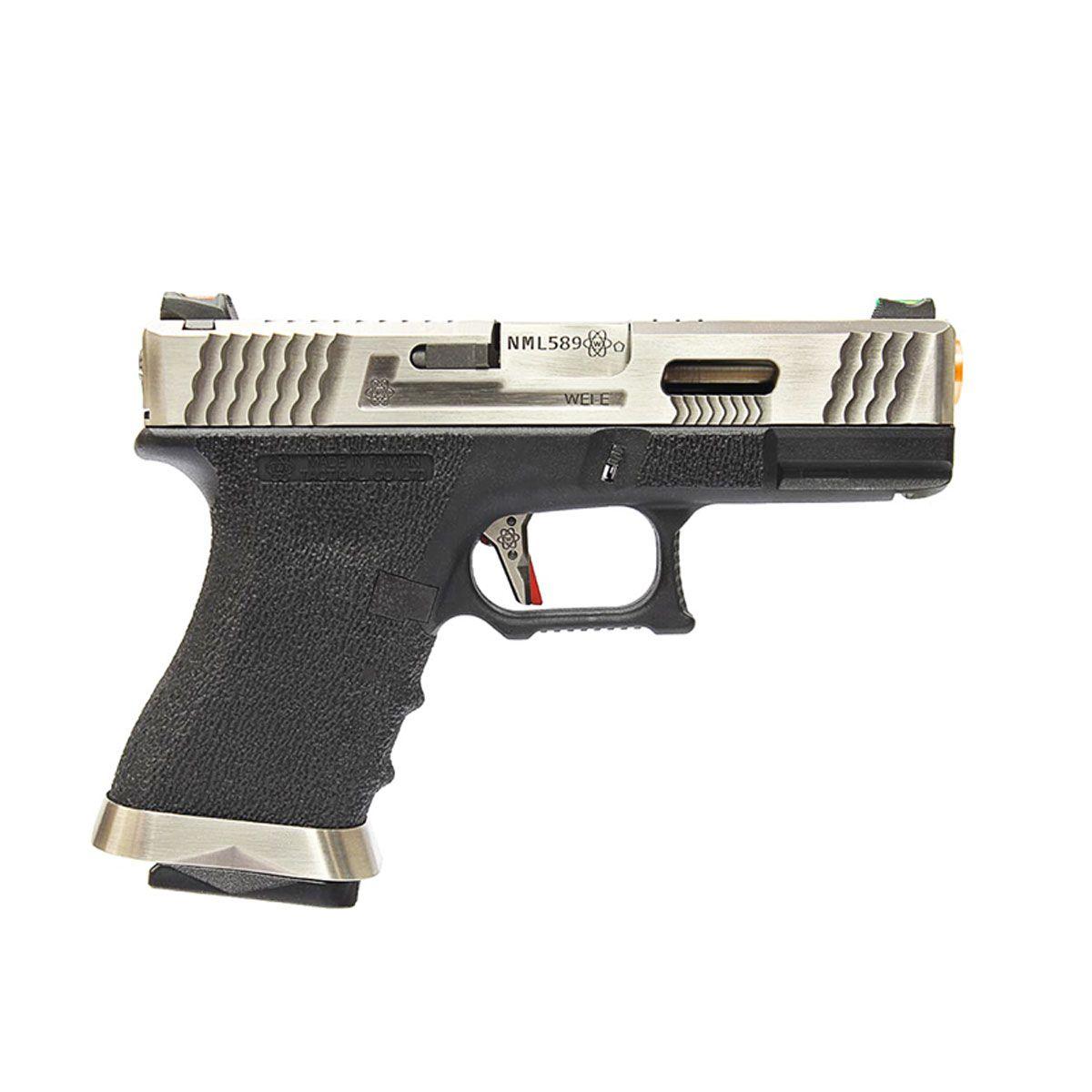 Pistola Airsoft G18C WET3 GBB - WE