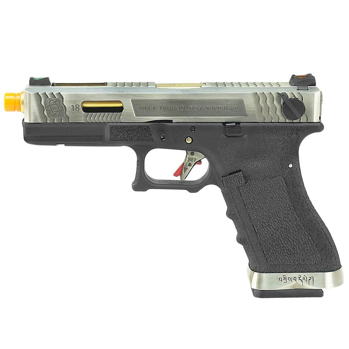 Pistola Airsoft G18C WET3 GBB - WE