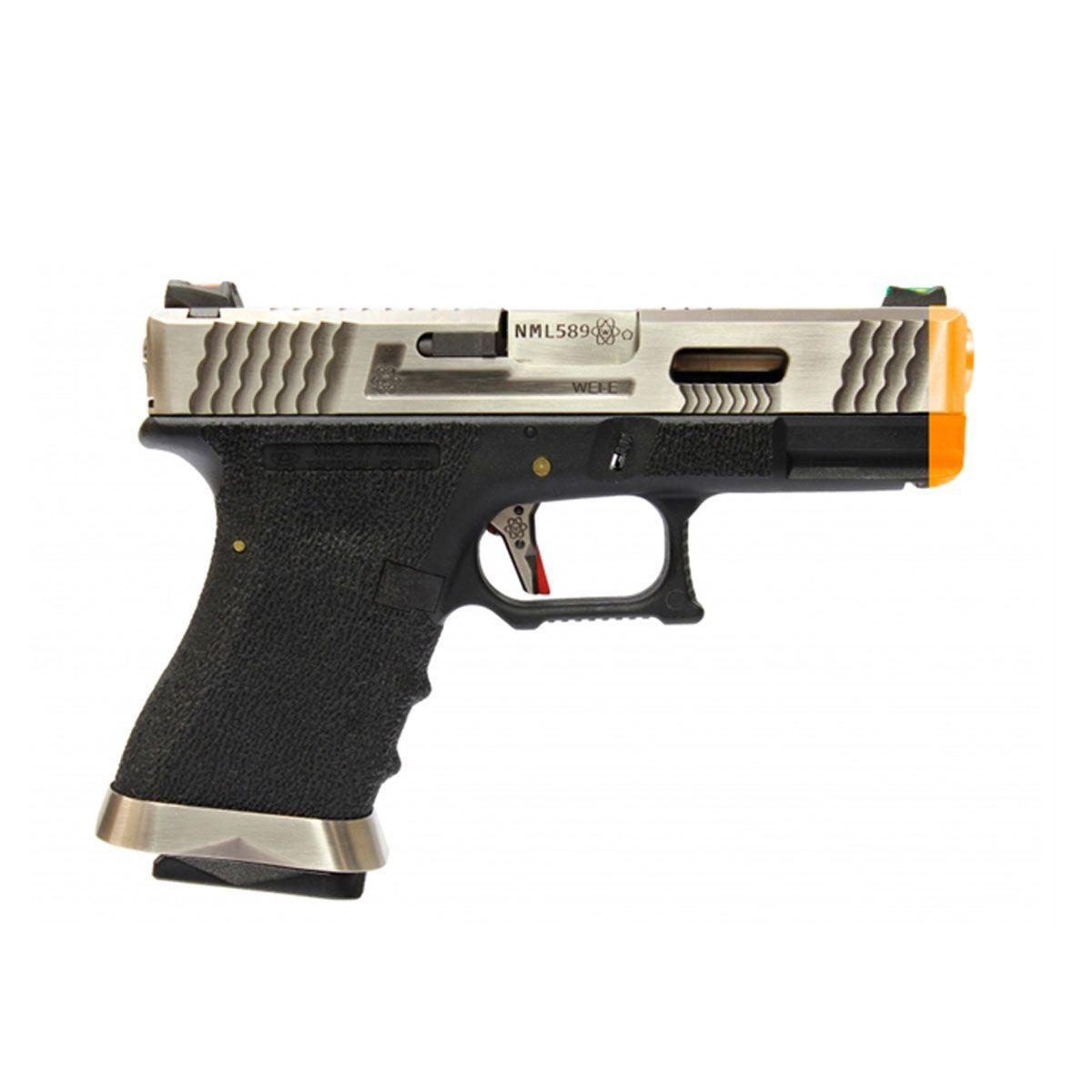 Pistola Airsoft G19 WET7 GBB - WE