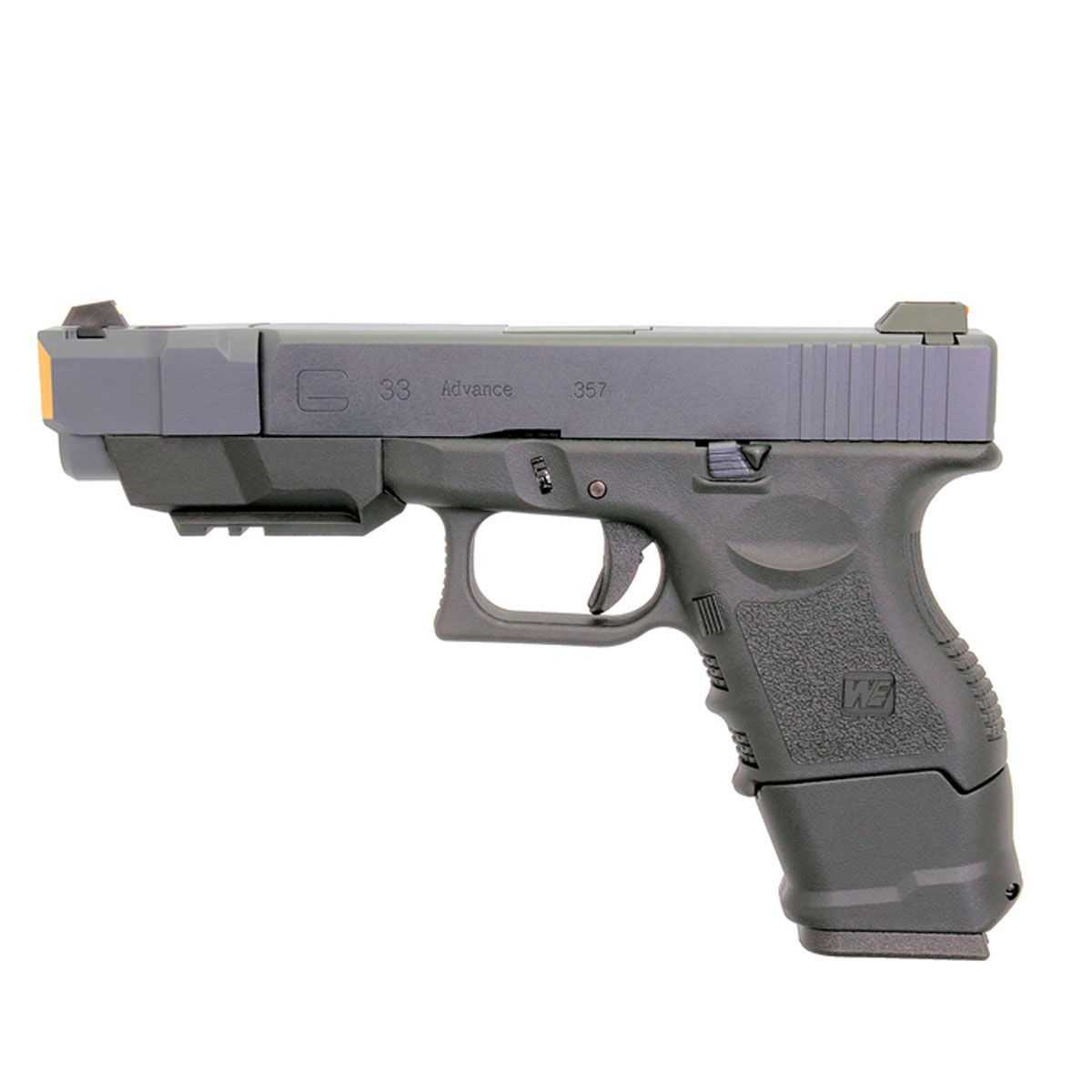 Pistola de Airsoft WE G33A GEN 3 GBB 6mm