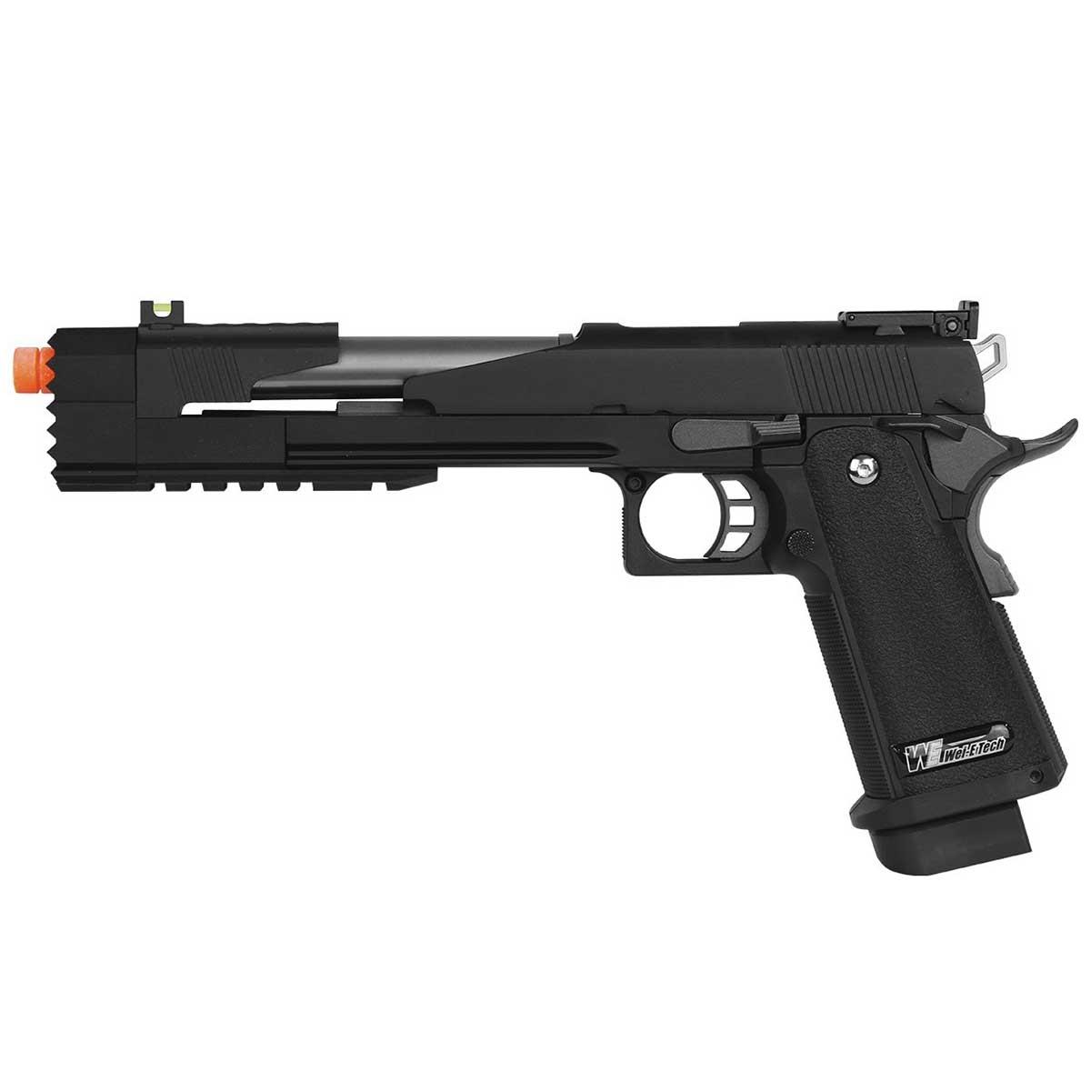 Pistola Airsoft GBB WE 1911 Black Dragon 7.0 A Full Metal 6mm